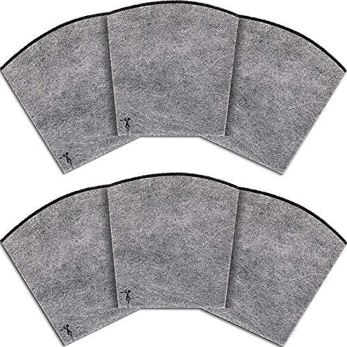 6 piezas de repuesto de filtros de carbono purificador de aire, eliminadores de olores de aire para mascotas compatibles con Hamilton Beach 04530GM 04530F 04251 04271 04530 04294 04531GM 04532GM