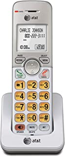 AT&T EL50003 Accessory Cordless Handset, White | Requires AT&T EL52103, EL52203, EL52253,EL52303, EL52353, EL52403, or EL5...