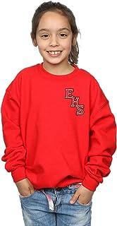 Disney Girls High School Musical The Musical EHS Logo Breast Print Sweatshirt