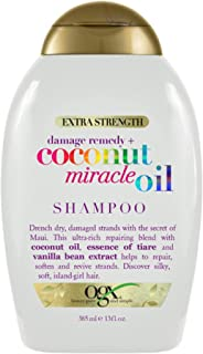 OGX Extra Strength Damage Remedy + Coconut Miracle Oil Shampoo for Dry, Frizzy or Coarse Hair, Hydrating & Flyaway Taming ...