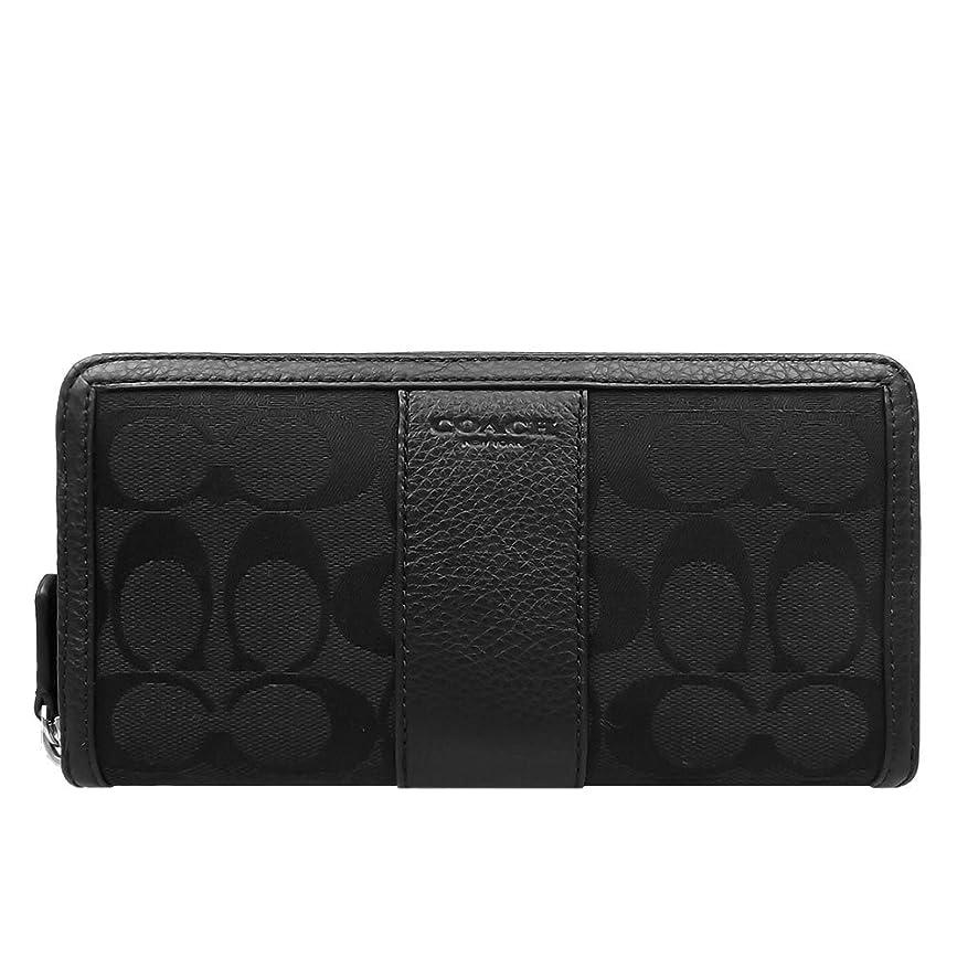 ふさわしい人気健康[コーチ] COACH 財布 (長財布) F51770 ブラック×ブラック SBKBK シグネチャー 長財布 レディース [アウトレット品] [並行輸入品]