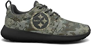 Womens Roshe One Lightweight Military Camouflage Cool Mesh Cross-Country Running Sneakers Shoes