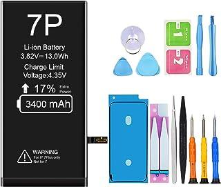 Vancely iPhone 7 Plus バッテリー 3400mAh 交換用 バッテリー 大容量 PSE準拠 — 標準工具セット付き 日本語説明書付 iPhone 7 PLUS専用