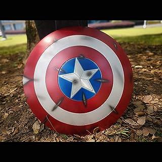 Avengers Captain America Schild 1:1 mit LED Licht /& Sound Kinder Cosplay Kostüme