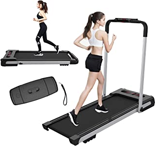Super Eco 2 in 1 Home Treadmill, 2.25HP Home Office Fitness Equipment Treadmill, Installation Free Device with Remote Control and LED Display for Home Office Fitness¡