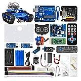 KOOKYE Robot Car Electronics Parts Kit for Arduino Raspberry Pi Tank Platform Chassis (Electronic Parts Kit V2.0)