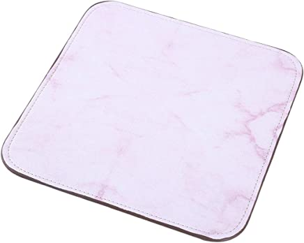 VWH Mouse Pad Anti Slip Marble Print Mouse Mat for Desktops Computer PC and Laptops (Pink)