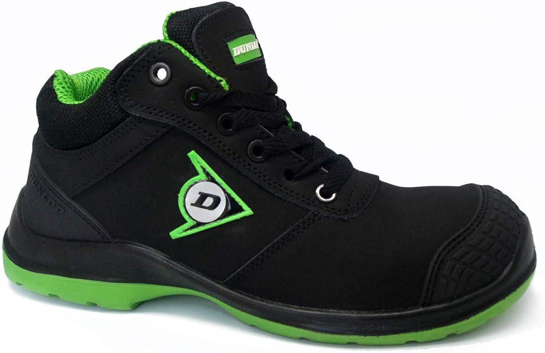 Dunlop First One Media Schuh Grün S3 Größe Größe 43  bevorzugt