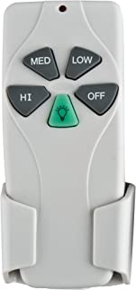 Concord Fans RM-103-S Universal Ceiling Fan Remote Control Small Motor