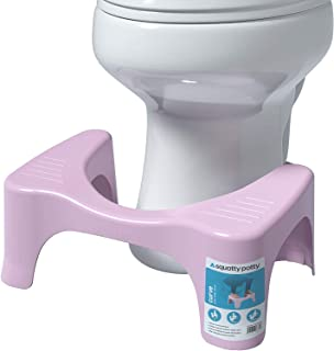 Squatty Potty Curve Toilet Stool, Pink, 7 Inch - 1 of Piece