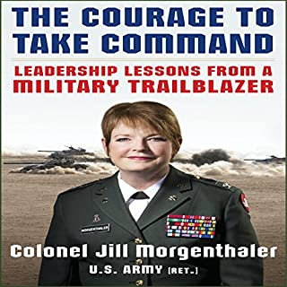 The Courage to Take Command audiobook cover art