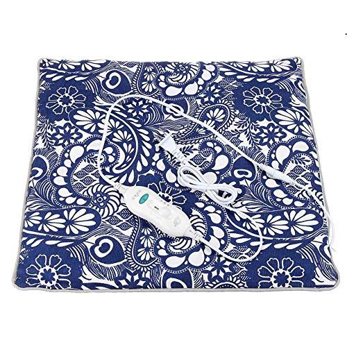 FDCVF Elektrisch kussen Moxa verwarming moxibustion warm pad zitdeken voor huis kantoor gezondheid Pure Bottom Wormwood temperatuurinstelling met 2 snelheden 45 × 45 cm