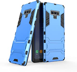 Galaxy Note 9 Case, UZER Shockproof Hybrid Dual Layer Hard Cover PC + Soft Silicone Interior Scratch Protective Combo Armor Defender Full Body Protective Case with Kickstand for Samsung Galaxy Note 9