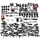 Feleph Swat Military Bricks Toys Police Guns Army Toys Soldiers Figures Accessories Weapons