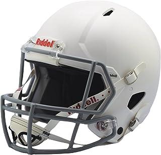 Riddell Victor 青年头盔,白色/灰色,大号