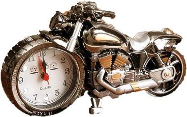 mxdmai Old Fashioned Alarme Horloge Nouveauté Rétro Moto Moteur De Style Horloges Réveil Bureau Décoration Enfants Cadeau (Do