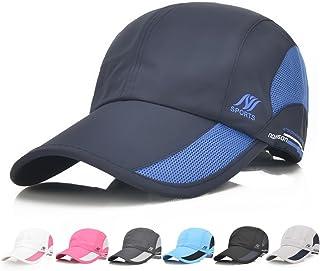 c51b1d43aa1 Sport Cap Summer Quick Drying Sun Hat UV Protection Outdoor Cap for Men