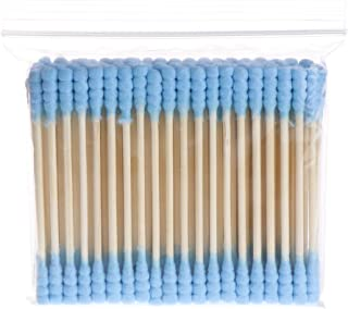 WT-DDJJK Bawełniany wacik, 100 szt. kosmetyczny makijaż bawełniany wacik podwójna głowa pąki uszu narzędzia do czyszczenia...