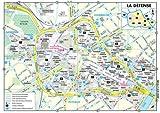 Plan de ville : La Défense (plan plastifié)