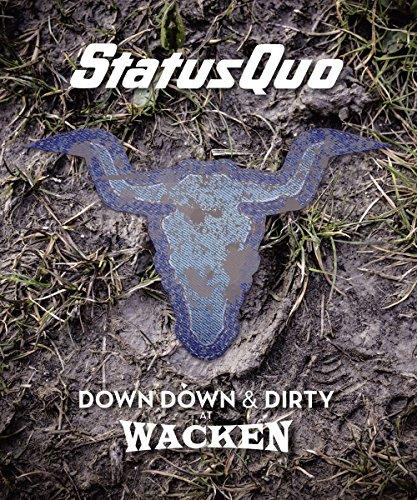 Status Quo - Down Down & Dirty at Wacken - Limitierte Blu-ray + CD Edition