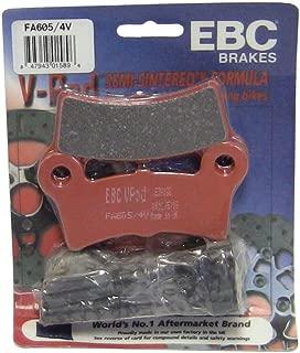 EBC Brakes FA605/4V Semi Sintered Disc Brake Pad