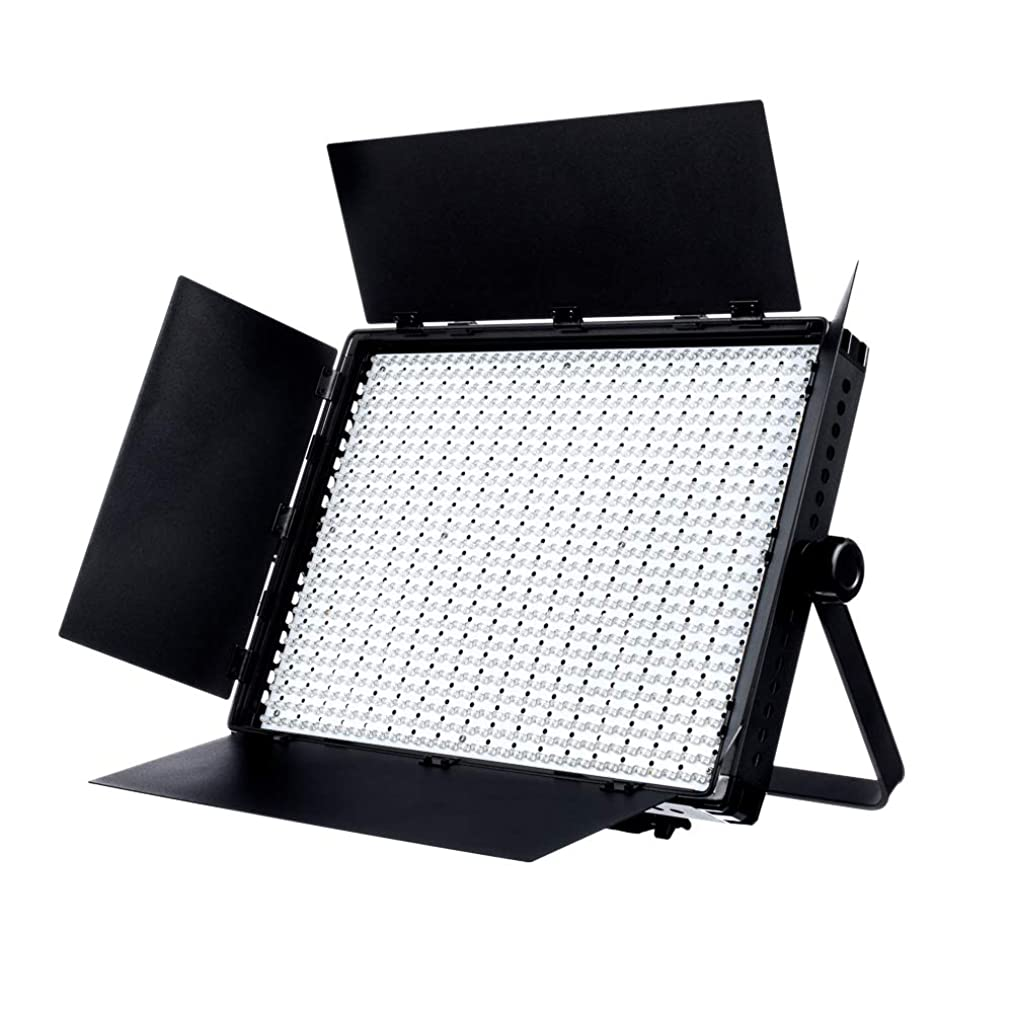 Fovitec - 1x Photography & Video 2nd Gen Daylight 1200XD LED Panel w/Filters & Case - [95+ CRI][Continuous Lighting][Stepless Knobs][V-Lock][5600K]