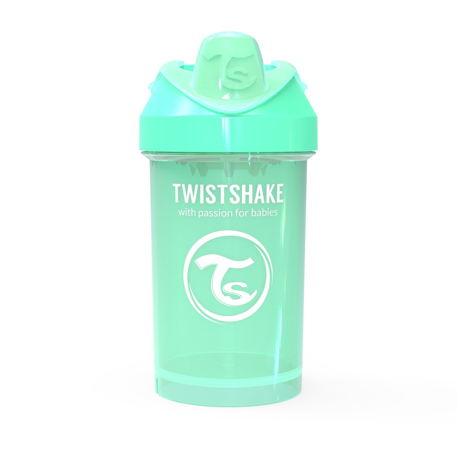 Popular product Twistshake Crawler Cup 300ml Pastel Ranking integrated 1st place 10oz 8+m Green