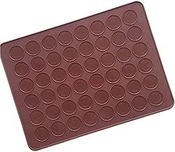 Longzang HY5-012 Silicone Macarons Mat, Brown