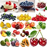 HONIC Yaca (5-6Pcs): Perenne Multi-Estilo del jardín en Maceta de semilla de Fruta Sabrosa Semillas Frutas Raras Lote