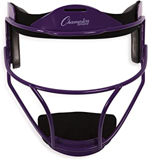 Champion Sports Softball Fielder's Face Mask – Available in Steel or Magnesium in Multiple Colors and Sizes