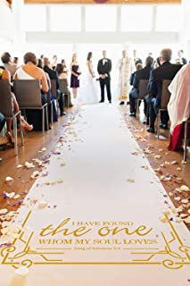 Best burlap carpet wedding Reviews