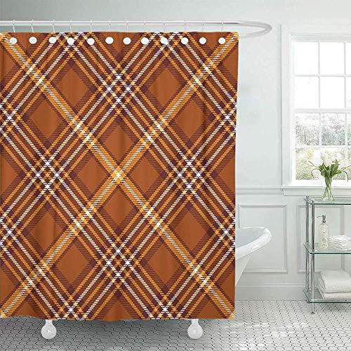 cortinas baño marron beige