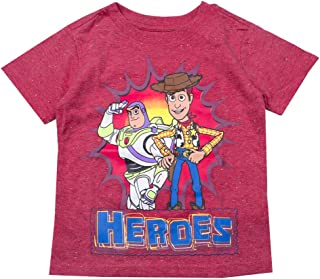 018d1dc99 Disney Pixar Toy Story Shirt - Buzz Lightyear and Sheriff Woody Tee - Toy Story  T