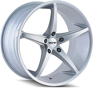 Touren TR70 3270 Silver Wheel with Painted Finish (18 x 8. inches /5 x 114 mm, 35 mm Offset)