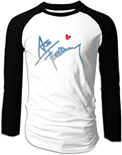 Fashion Long Sleeve Shirts for Men I Love ACE Frehley Pattern