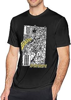Touhou JoJo`s Bizarre Adventure Kujo Jotaro & Dio Brando ORA X MUDA Men`s Short Sleeve T Shirt Top