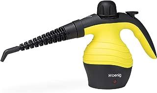 H.Koenig NV60 Limpiador A Vapor Compacto, Vaporeta 1000W, 4,