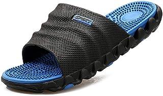 NEWELLYY massage slippers sandalen, Massage gezondheid slippers, driedimensionale platform sandalen, Op Mules Douche Sanda...