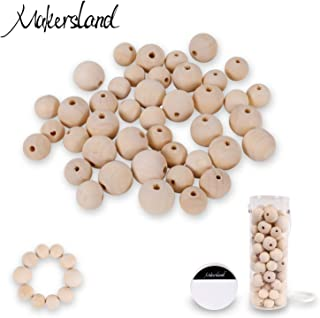 Best 20mm round wooden beads Reviews