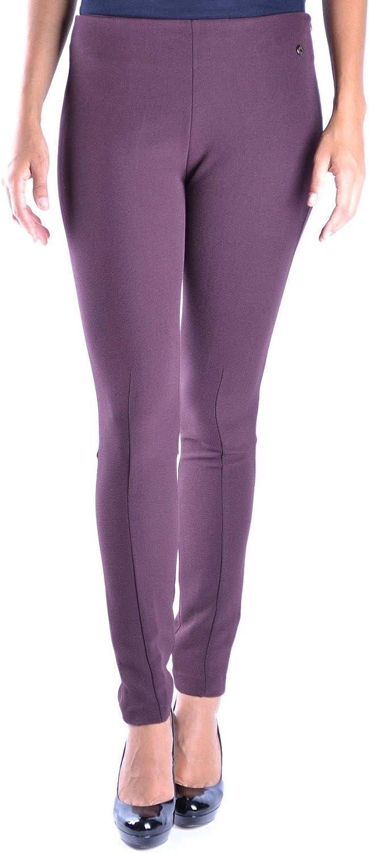 TwinSet Women's MCBI14666 Purple Polyester Leggings