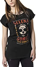 Selena Gomez Dames T-Shirt Kill Em Skull Tee met d...