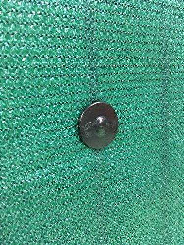 Fixation brise vue GRIPNET traités anti-UV pour panneaux grillagés (diamètre tige 5mm) X30 (noir)