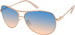 Women's J106 Metal Aviator Sunglasses with 100% UV...
