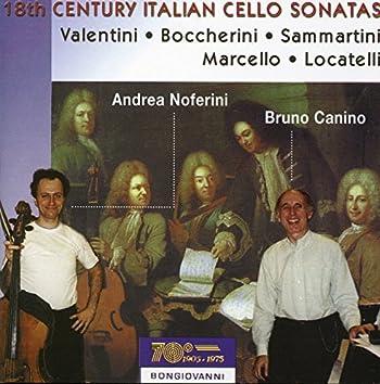 18th Century Italian Cello Sonatas