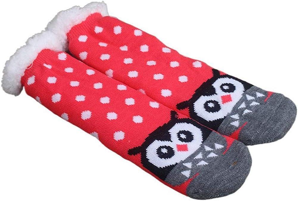 Women's Winter 67% OFF of Popular products fixed price Cartoon Thicken Anti-slip Socks Cute Warm Fleece