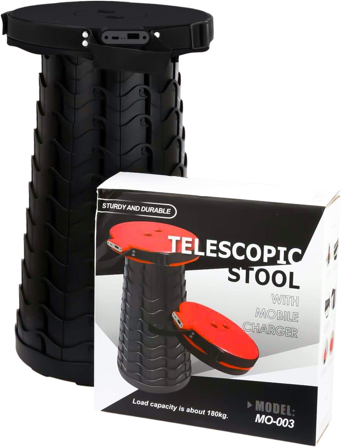 Haxton Portable Retractable Telescopic Stool $11.99 Coupon