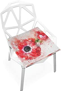 LeeBelle Outdoor/Indoor Rocking Chair Cushion Family Fashion Dining Chair Cushion Patio Seat Cushions Square Chair Pads 16
