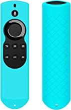 OEAGO Silicone [Anti Slip] Shock Proof Cover Case for All-New Fire TV with 4K Alexa Voice Remote (2017 Edition) (2nd Gen) / Fire TV Stick Alexa Voice Remote (Mint Turquoise)