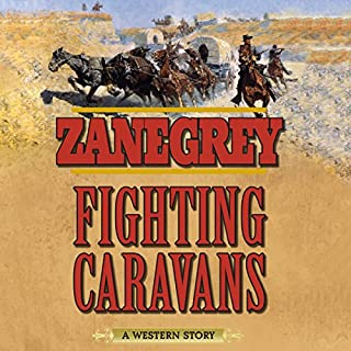 Fighting Caravans audiobook cover art
