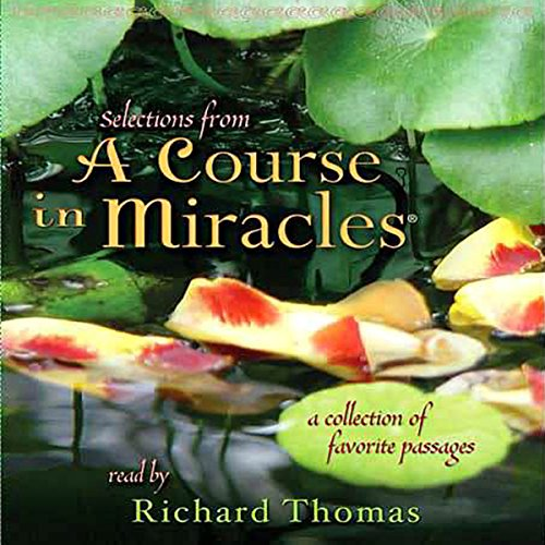 Selections from 'A Course in Miracles' audiobook cover art